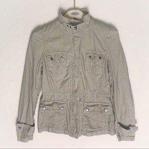 Converse One Star utility jacket beige small